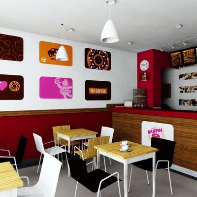 Decoración cafetería en Málaga 2