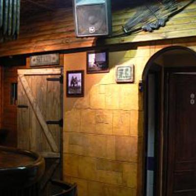 decoración de bar