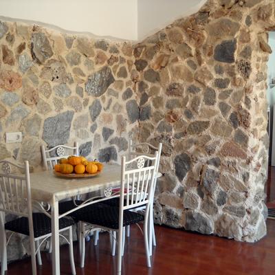 decoracion de cocina con piedra