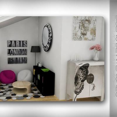 Decoración espacio chillout en casa unifamiliar