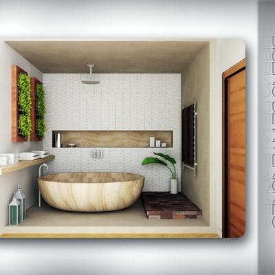 Decoración vip de baño