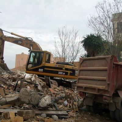 demolicion chalet