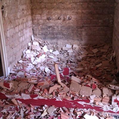Demolición de cocina