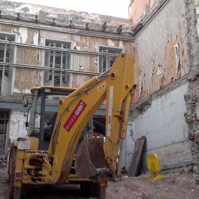 Demolición Edificio Imeldo Serís