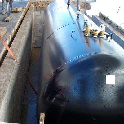 Depósito gas enterrado