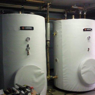 Depositos acumuladores de agua caliente