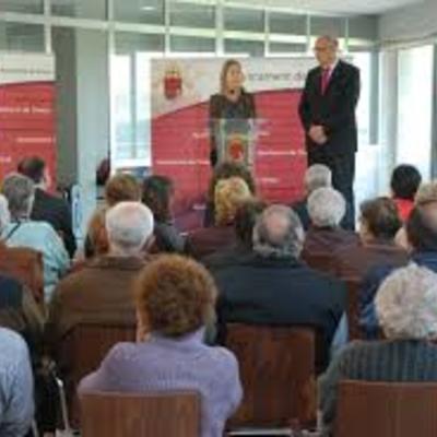 Celebración de la apertura del centro de dia de Tivissa