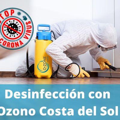 Desinfeccion Con Ozono En la Costa del Sol