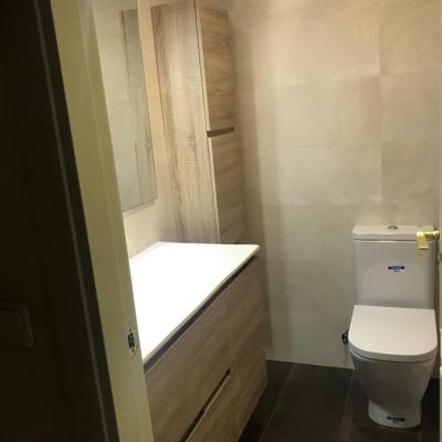Reforma de baño en Pinto ( despues )