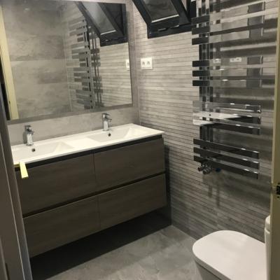 Reforma de baño  en Pinto ( despues 1 )