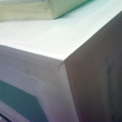 detalle canteado de cajón de bañera