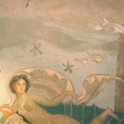 Detalle de mural submarino