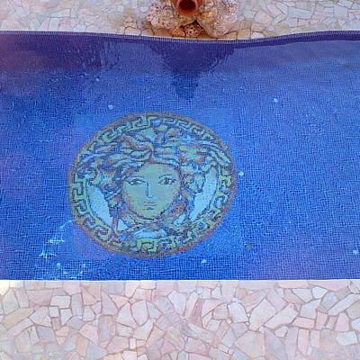 Detalle gresite en piscina de obra