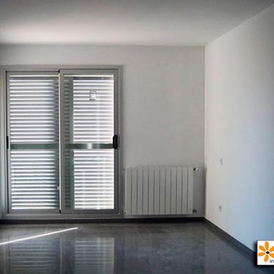 Detalle interior de acabado de vivienda