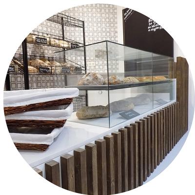 Mostrador panadería