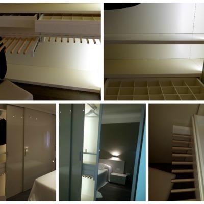 detalles vestidor en dormitorio  principal