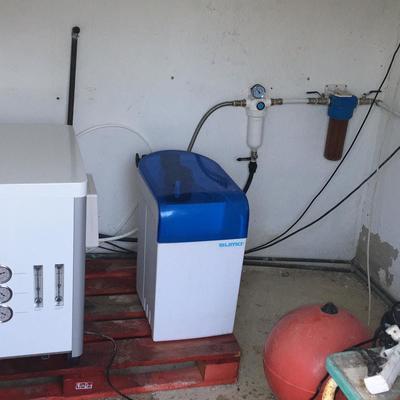 instalacion descalsificador y osmosis industrial