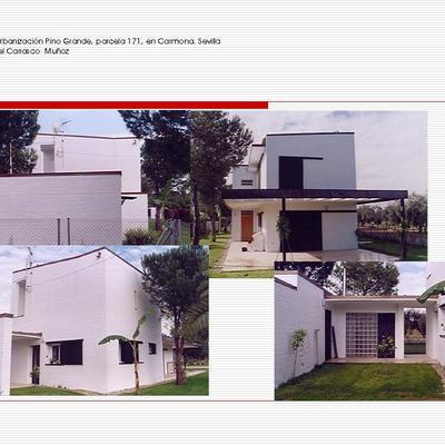 Casa en la Urbanización Pino Grande, parcela 171, en Carmona. Sevilla