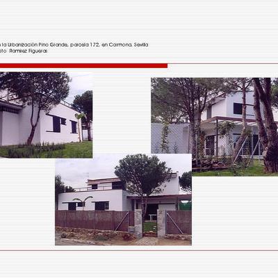 Casa en la Urbanización Pino Grande, parcela 172, en Carmona. Sevilla