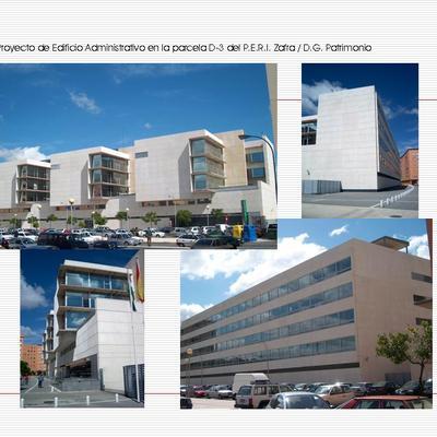Edificio Administrativo _P.E.R.I. Zafra .  Huelva