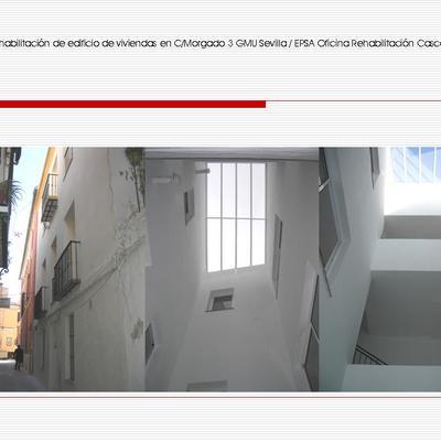 Rehabilitación de viviendas en C/Morgado 3 Sevilla