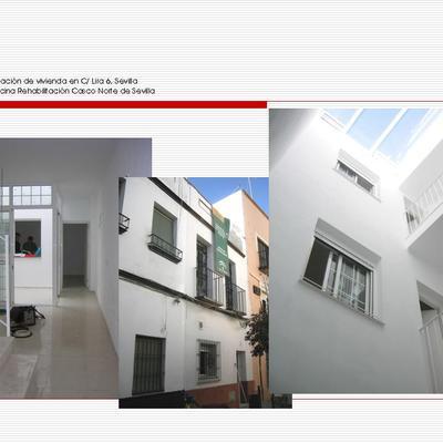 Rehabilitación de vivienda en C/ Lira 6, Sevilla