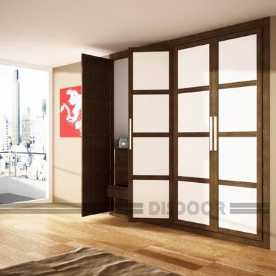 Frenta puerta abatibles