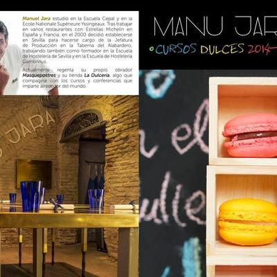 Diseño Aula Cocina para Manu Jara en Masquepostres.