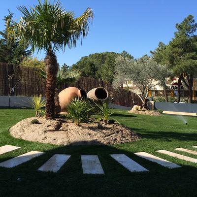 Diseño de jardines e instalación de riegos