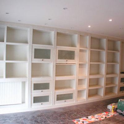 Diseño de librería salón