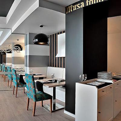 Diseño de restaurante en madrid. Musa Food