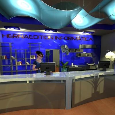 Diseño de tienda de telefonía 2