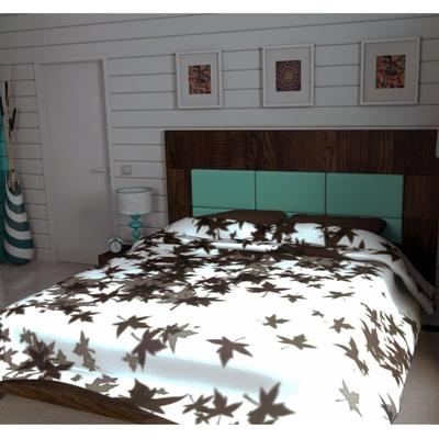 diseño dormitorio, cama