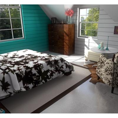 diseño dormitorio, vista desde entrada