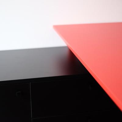 Detalle mesa hecha a medida