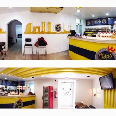 Proyecto de interior para resturante de comida rápida.