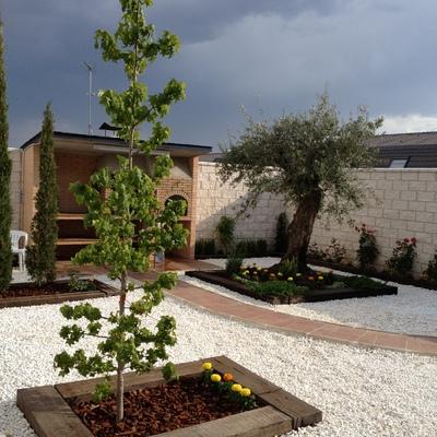 Diseno jardin Toledo