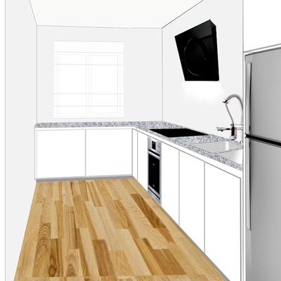 Diseño rehabilitación cocina