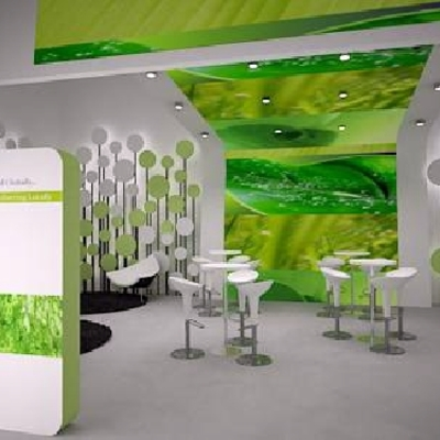 Diseño Stand de feria exterior e interior para importante multinacional