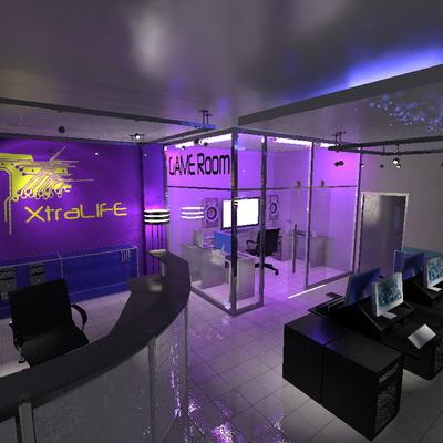 Diseño tienda de videojuegos