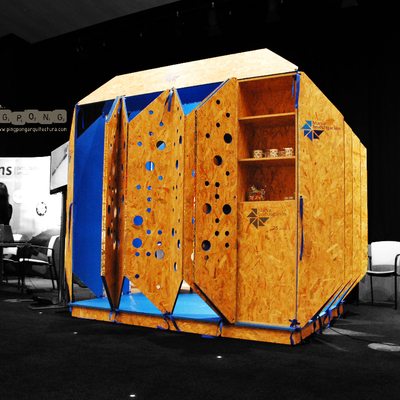 Diseño y construcción de Stand Biombo para Nueva Investigación