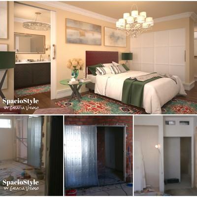 Interiorismo Integral: Reforma de vivienda. Dormitorio