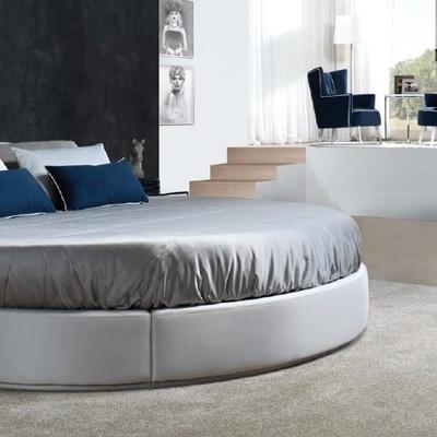 Dormitorio de cama redonda