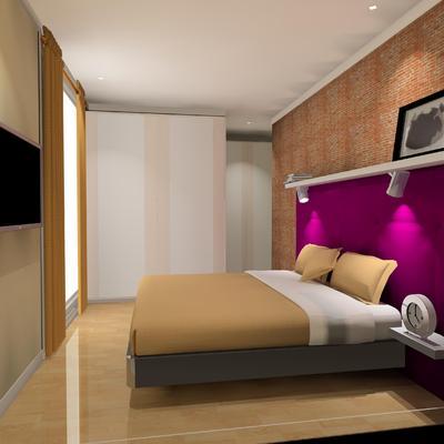 Dormitorio con nuevo armario