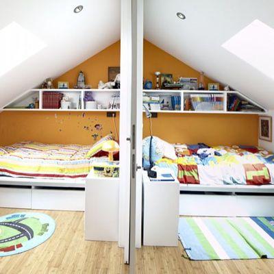 Dormitorio doble para dos hermanos