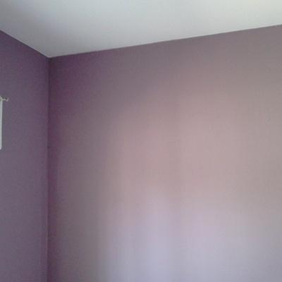 dormitorio en color fuerte