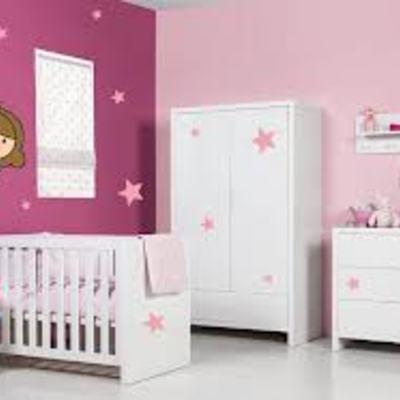 Dormitorio infantil varios colores