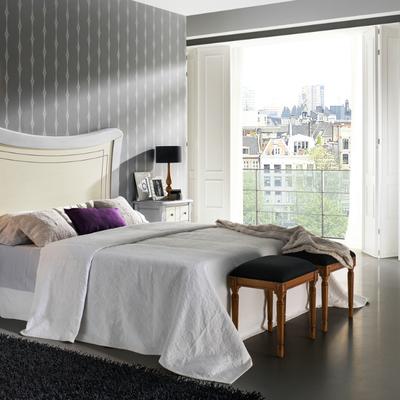 Dormitorio matrimonio con cabecero modelo versalles