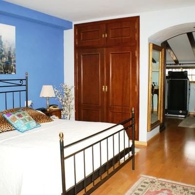 Habitación principal con vestidor