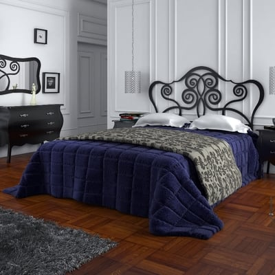 Dormitorio NAPOLES con cabecero de cama en forja